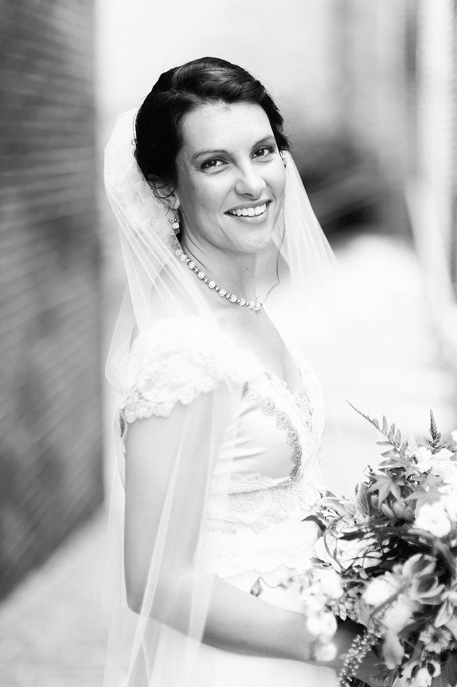 Inn at Hendersons Wharf Wedding bridal portrait