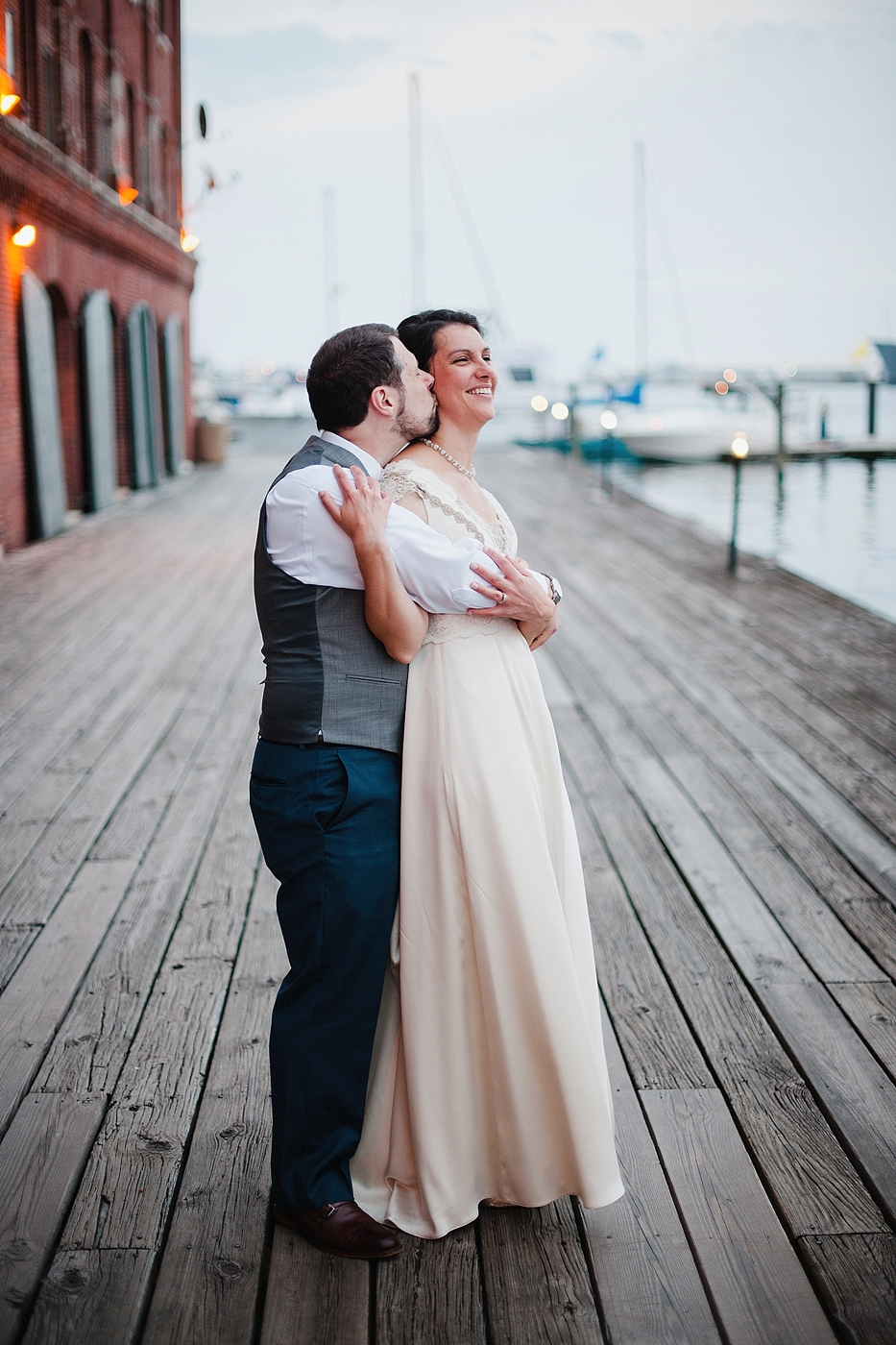 Inn at hendersons wharf wedding sunset portraits