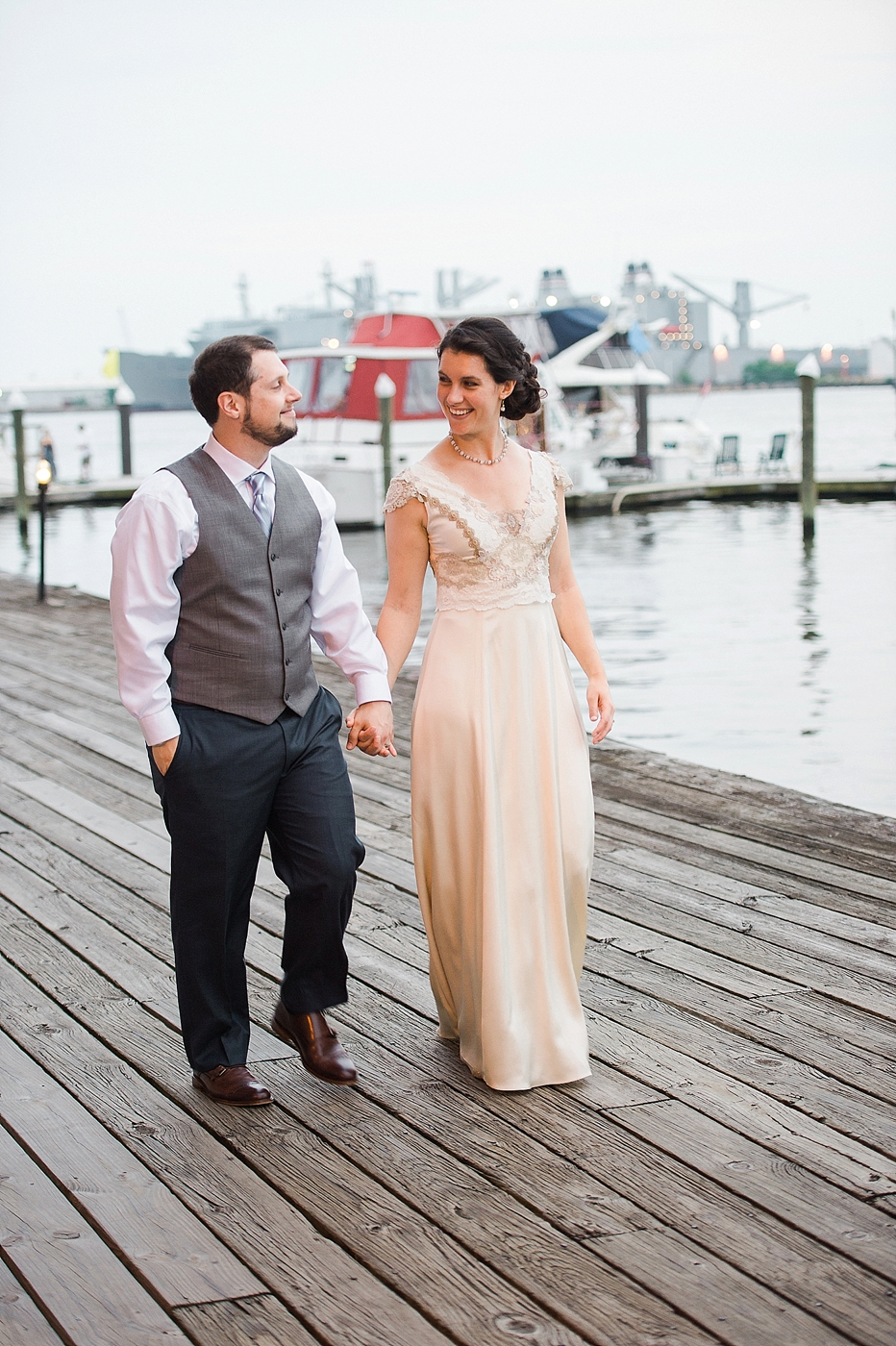 Inn at hendersons wharf wedding