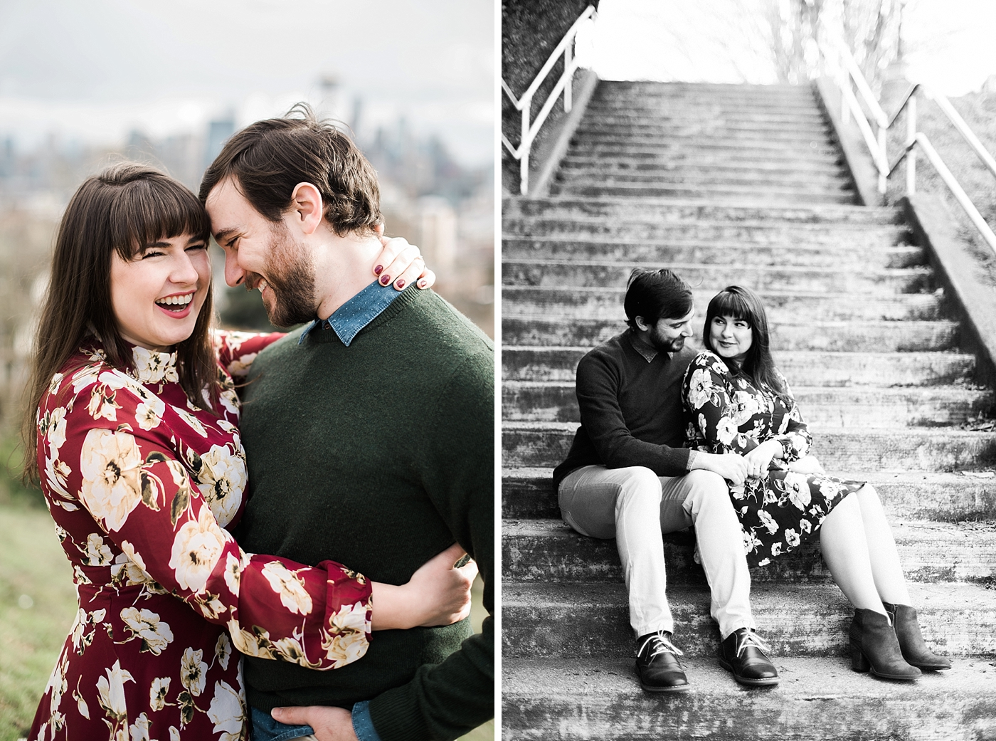 kerry park engagement session
