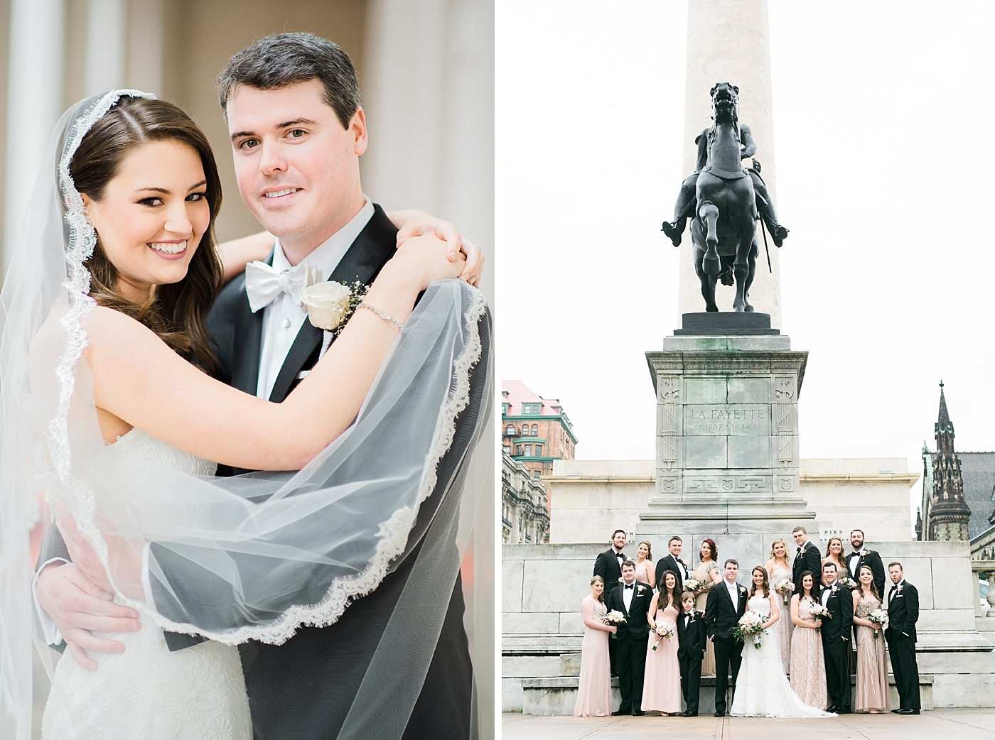 Mt Vernon Bridal Party Photos