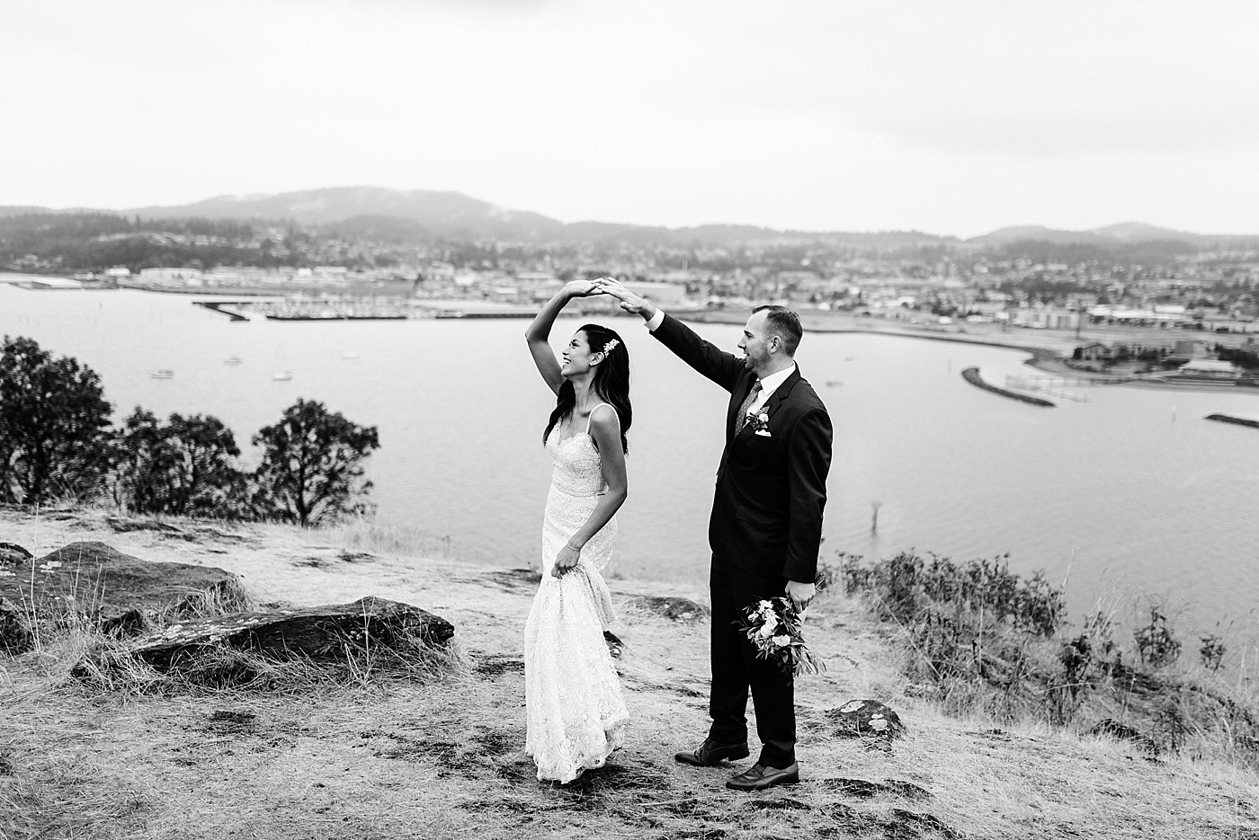 Anacortes WeddingPhotos at Cap Sante Park