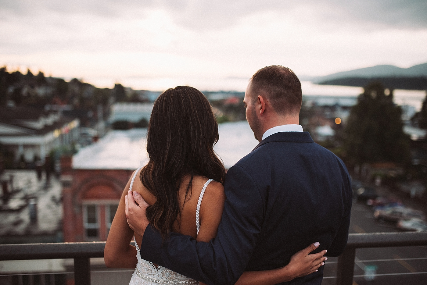 Sunset Couple Portraits at the Majestic Inn and Spa
