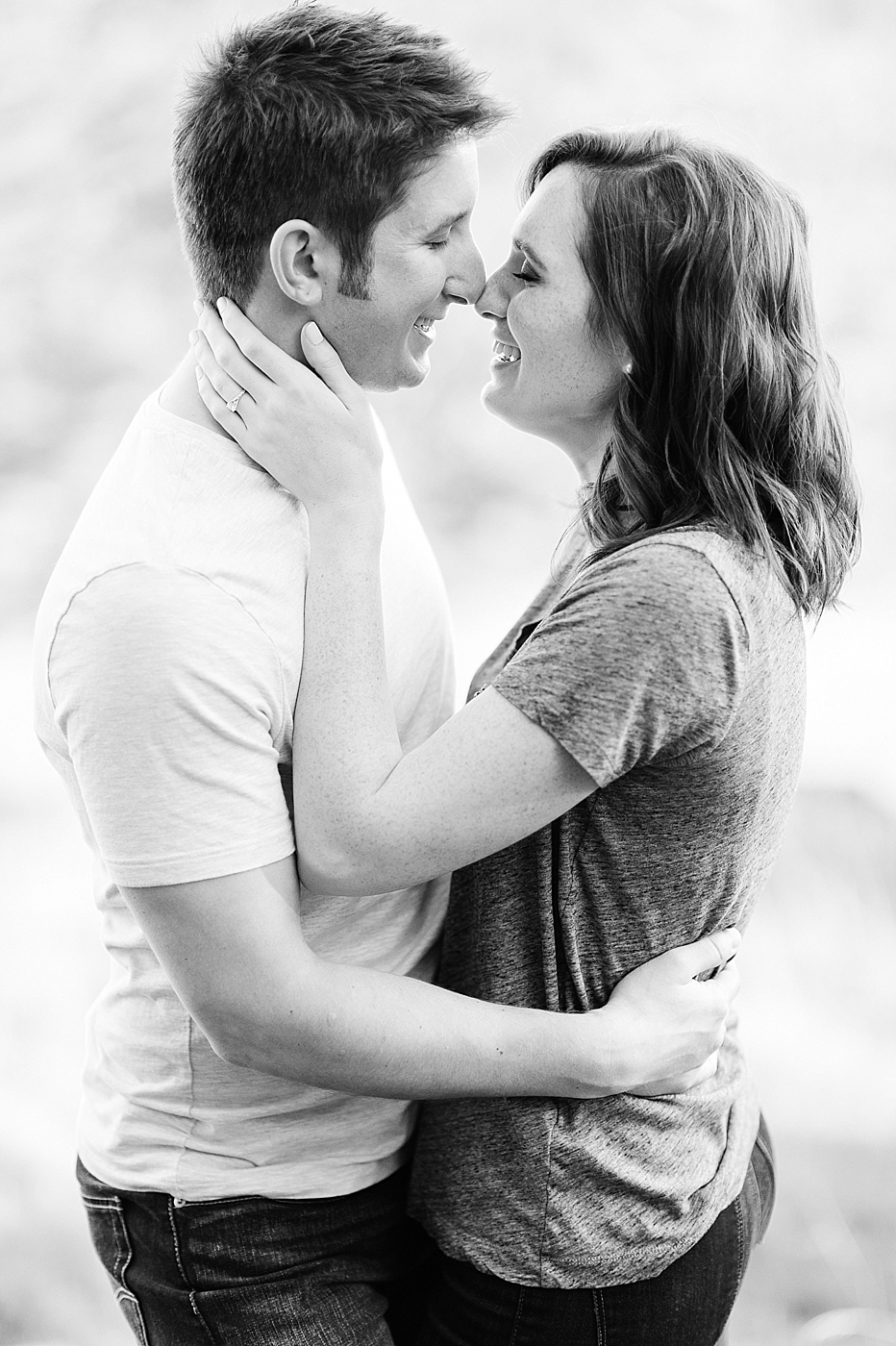 Deception Pass intimate Engagement Photos